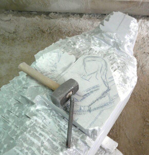 intaglio del marmo stuflesser ortisei