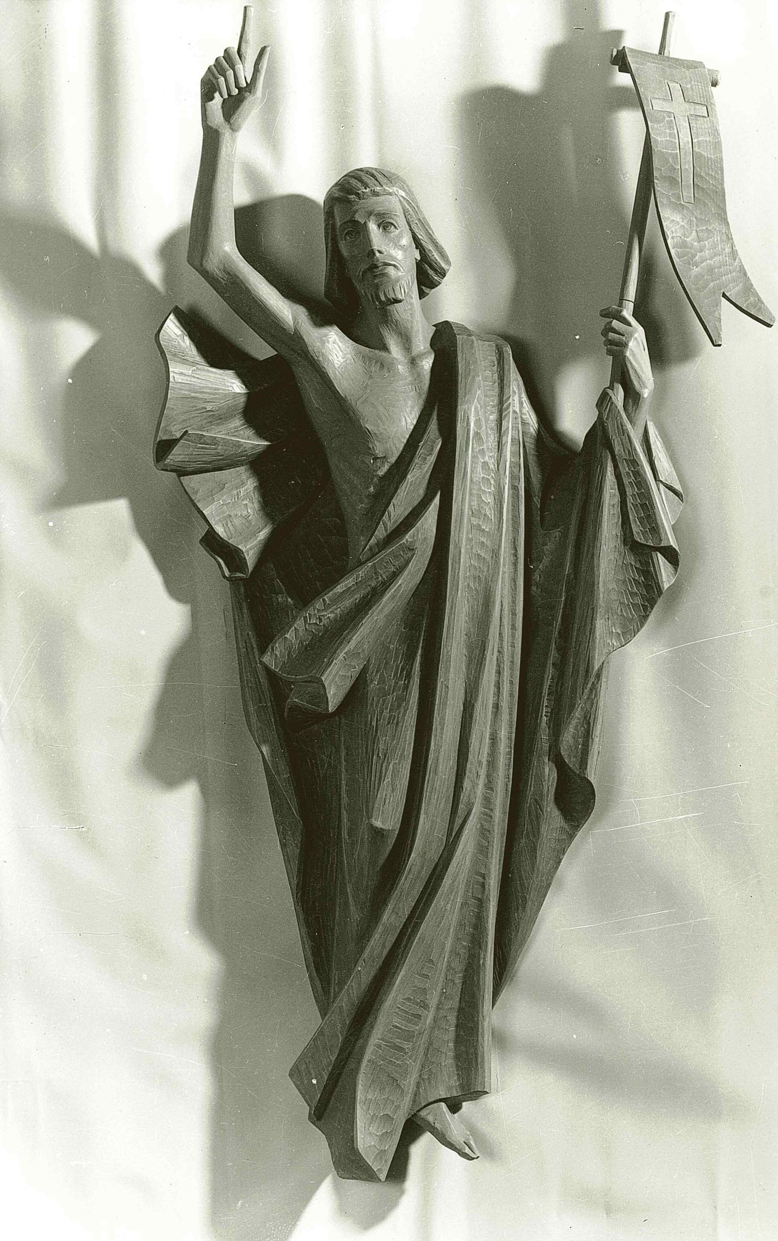 Figures Of Resurrected Christians First Group Ferdinand Stuflesser 1875