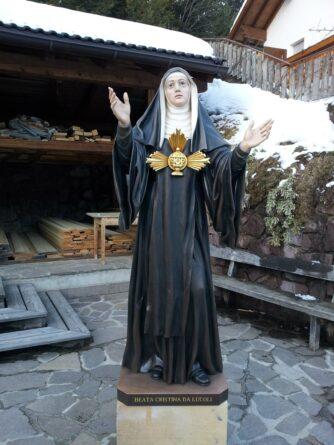 beata cristina da Lucoli legno ortisei