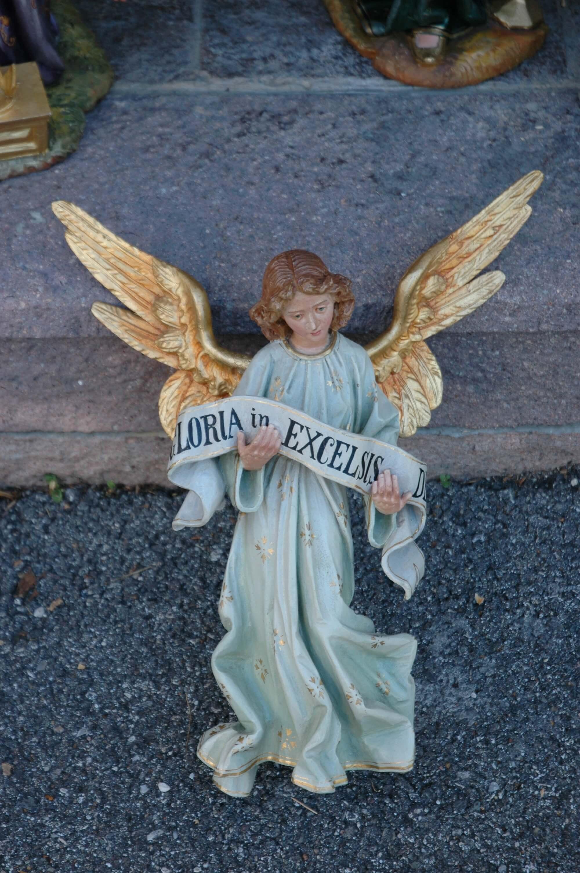 Adoring angels II - Ferdinand Stuflesser 1875