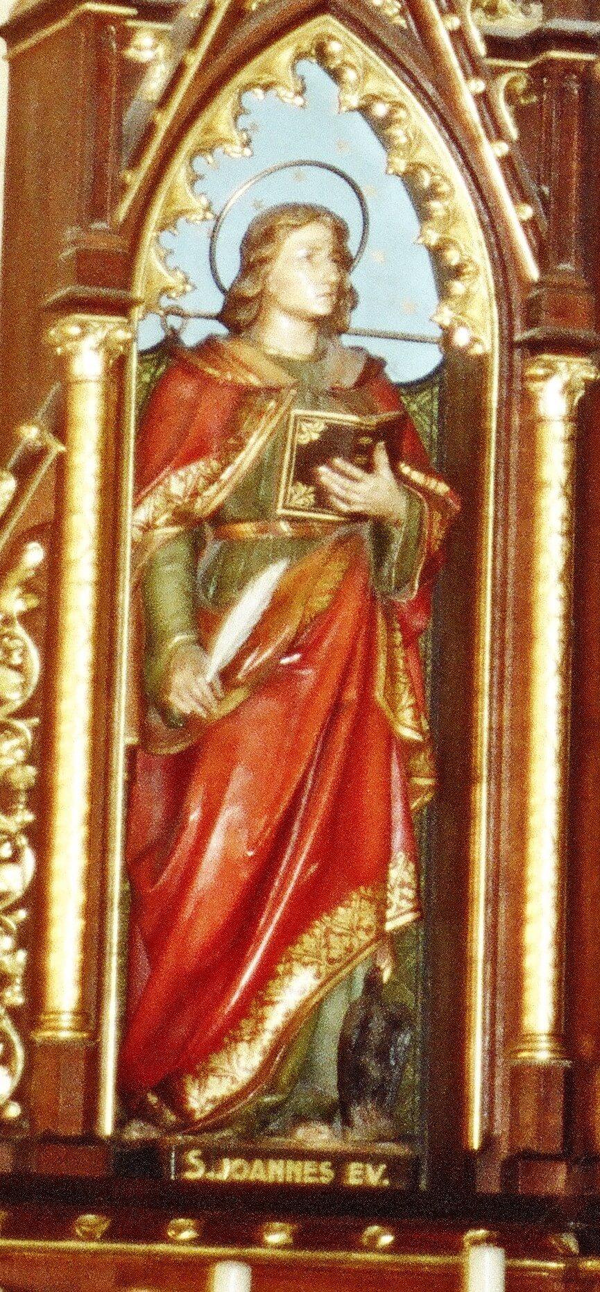 John Evangelist - Ferdinand Stuflesser 1875